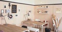 Bureau | Workspace / Workspace Deco and Inspiration - Bureau, espace de travail