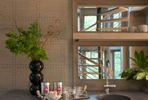 Walls - Leather & Tile