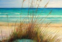 <3 the Beach!!! / Salt... Sand...Sun...Sky / by H. Being