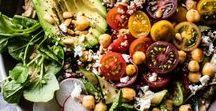Veggie Food / Yummy veggie meals - Plats végétariens