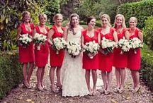 Red Weddings / Wedding inspiration in shades of red.
