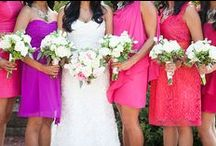 Pink Weddings / Wedding inspiration for pink-themed weddings.