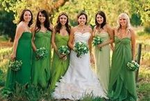 Green Weddings / Green-themed wedding ideas and inspiration.