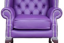 Purple Decor / Colorful Inspiration featuring decor with a purple theme.