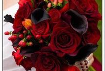 Red & Burgundy Floral Designs & More / by Occasions Extraordinaire