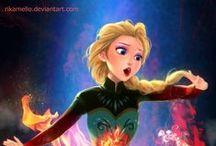 Disney / Todos os filmes e desenho que a disney