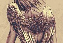 Fantasy Anatomy | Angels
