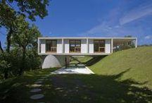 Casas TERRENOS INCLINADOS   Sua Casa VV2 arquitetura   / Terrenos inclinados para você que quer construir sua casa e não sabe como. www.vv2arquitetura.com