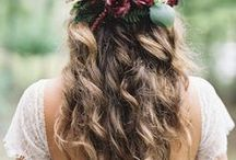 Bohemian Flower Wedding