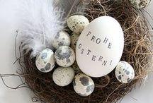 DIY- und Dekoideen zu Ostern / kurz nach Weihnachten kommt ja schon Ostern! Und bringt uns den Frühling mit. Ganz viel frisches Grün und tolle Ideen für Ostern habe ich hier gesammelt: