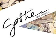 GOTTHEEDESIGN & GOTTH' ART / Selection of different artworks by me.