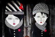 Street Graffiti / Graffiti on the streets , raw talent, soul, art, expression...respect! / by Helena Klapas