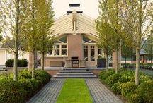 tuinontwerp - tuinaanleg modern-klassieke tuinen / Prachtige modern-klassieke tuinen die zijn ontworpen en/of aangelegd door BUYTENGEWOON. www.buytengewoon.nl