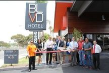 BLVD Hotel Costa Mesa Ribbon Cutting / Ribbon cutting ceremony for our Orange County location.