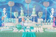 Mermaid Dessert Tables
