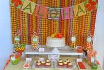 My Aloha Party and desserts