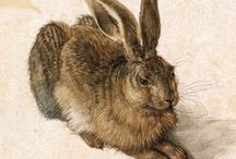 Albrecht Dürer / A well known German painter, printmaker, mathematician, and theorist from Nuremberg (which is in Franconia!)  (21 May 1471 – 6 April 1528)