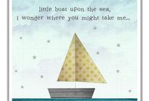 [ Little sailor ] / Inspiration for your nautical or sea themed nursery.