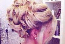 prom/graduation hair