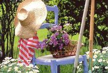 Jardins secrets`•. ¸ ¸. ☆ / Le charme des jardins et déco extérieure