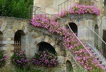 Demeures de charme`•. ¸ ¸. ☆ / Les belles maisons de charme, fermes, cottages et demeures de toutes sortes... vues de l'extérieur