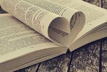 Livres et lecture`•. ¸ ¸. ☆ / Les livres sont ma plus grande passion... normal pour une romancière ;)