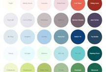 Earthborn Colours / The full palette of Earthborn paint colours - available in Claypaint, Eggshell & Eco Chic Claypaint for Furniture