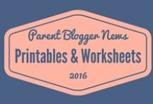 Blogging - Printables & Worksheets / Printables, work sheets, checklists and guides to help bloggers achieve their blogging goals. Including technical tips, writing prompts, business plans and more.
