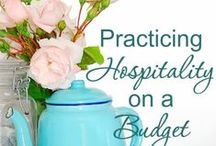 Hospitality / Showing hospitality is a lost art--these are posts to help and encourage you.