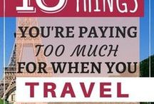 Budget Travel / How to save money while traveling / for traveling, and budget destinations.