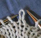 Knitting / Strikkemønstre