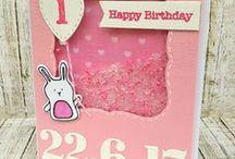 love birthday cards / unique handmade birthday cards