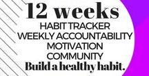 Habit Builders Club / Build healthy lifestyle habits that last! Stay motivated and inspired to reach your fitness and wellness goals.