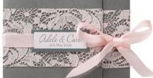 [ Lace wedding ] / Trendy, chic, vintage or romantic : LACE in your dress, shoes, decoration, accessories and of course in your wedding invitations with BestofCards!