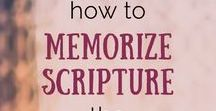 Scripture Memorization Tools / If you are looking for tools to help grow your faith by memorizing verses from the Bible--look no further!