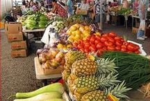 Open Air Markets / I enjoy visiting outdoor markets wherever we visit, many overseas