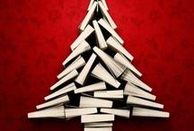 Boekenkerstbomen / Chrismas trees and books