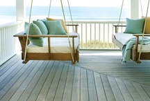 HOME: Porches I Love / Porch sitting...lovely ideas...restful serenity