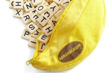 Bananagrams / All the bananatastic things to do with my client, Bananagrams