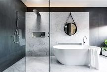 Bathroom Inspiration / Get inspired with these images of bathroom makeovers from all over the world. We've also included guides on different ways to tackle bathroom design, save space and loads more!