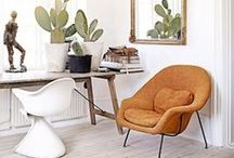 Mid-Century Modern Decor / To be or not to be, that is the question!  Some love it, some hate it, but these are some Mid-Century Modern looks that we love!