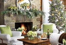 Christmas Greenery / It's the most wonderful time of the year....Christmas, and it's going to be here before we know it!  Here are some Christmas greenery and decor ideas that we find worth sharing.
