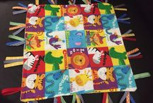 Tag Blanket / Easy to make!!