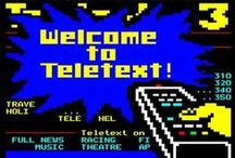Teletext / A tribute to the 8 bit wonder that was teletext. Teletext is not dead, it's just sleeping.