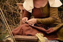 abiti medievali 1300 / Ispirazione abiti XIV secolo