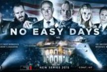 No Easy Days (Red Rock Entertainment) / Photo's from Film No Easy Days The President's daughter is kidnapped and held ransom by a British mercenary, and a rebellious Navy SEAL is the only hope of saving her.