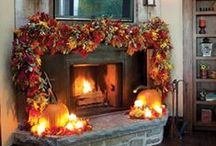 Autumn at Home / Autumn and Fall ideas for decorating your home for the months where the leaves fall from the trees. Craft ideas from working with pumpkins and wreaths on your front door!