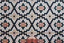 We Love I Mosaic Tiles
