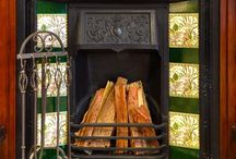 Room ~~ Classic Fireplaces / Beautiful old style hearths and fireplaces. Great for that classic, period look.