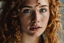Redheads & freckles